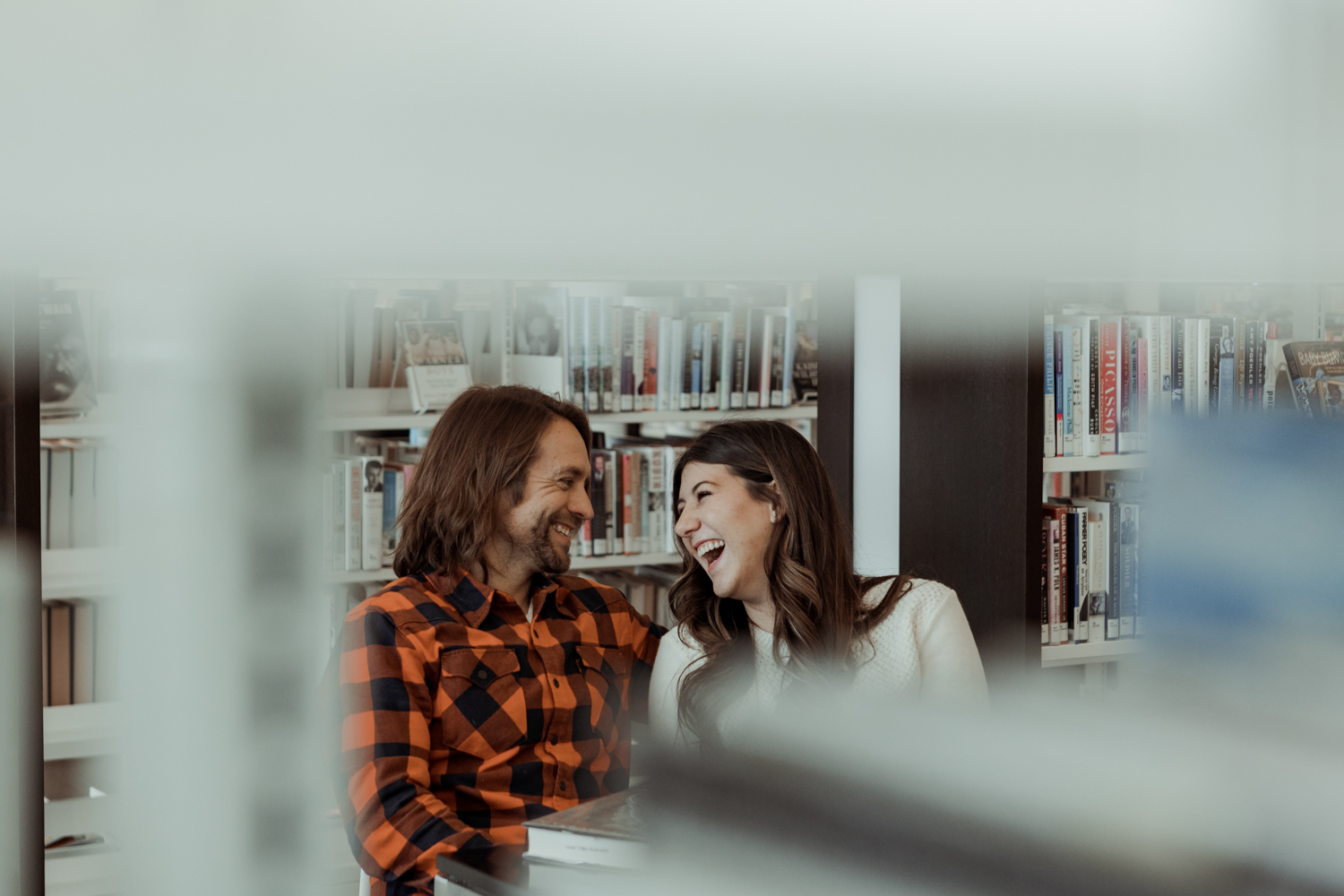 Cedar Rapids Public Library Engagement Photos
